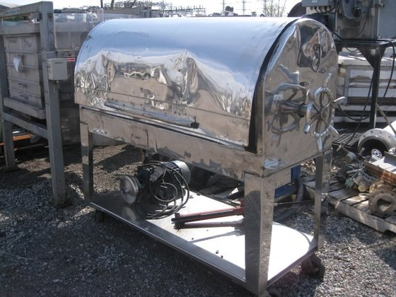 """15"""" STAINLESS STEEL FILTER PRESS"""