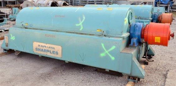 Sharples DS-706 DECANTER CENTRIFUGE, 317