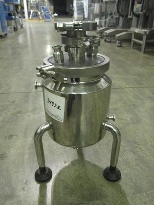 1 GAL STAINLESS STEEL RECEIVER