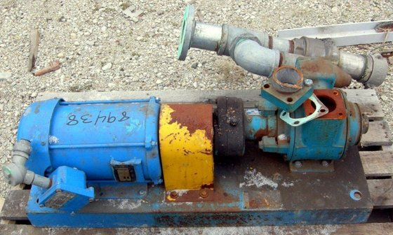 "Blackmer 2.5"" ROTARY VANE PUMP,"