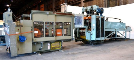1994 Brown CS-5500 THERMOFORMING LINE