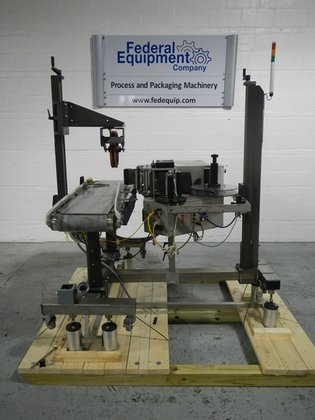 Marsh 500A Box Labeler in