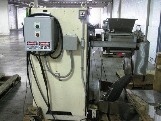 Bepex DP140-200 EXTRUDER ROTARY BAR