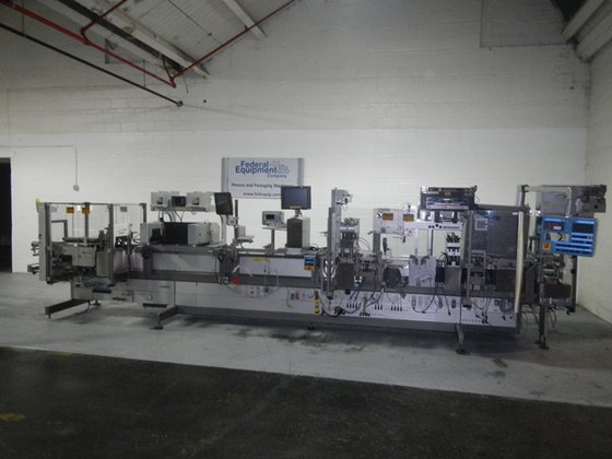1993 Uhlmann UPS4 BLISTER MACHINE