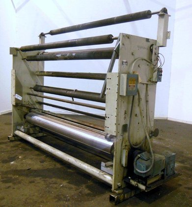 """SANO 104"""" TENSION ROLL STAND"""
