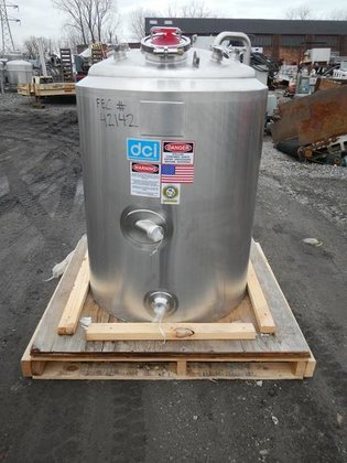 2006 DCI 100 GAL RECEIVER,