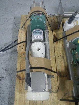 """Tri-Clover PR2520M-U-TC14-S-L 1.5"""" ROTARY LOBE"""