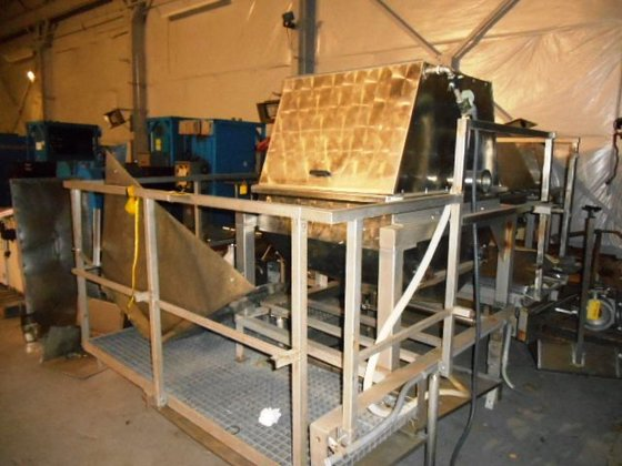 "Franken 36"" ROTARY DEWATER SCREEN,"