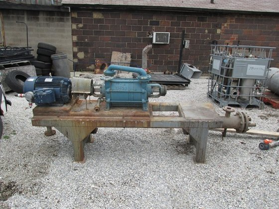 SIHI LPHA5620 VACUUM SYSTEM, S/S,