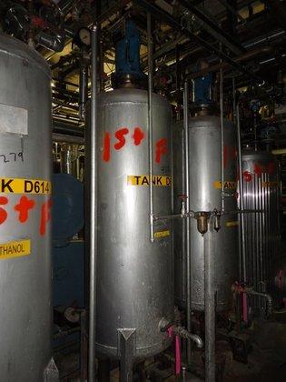 HWE 120 GAL RECEIVER, S/S,