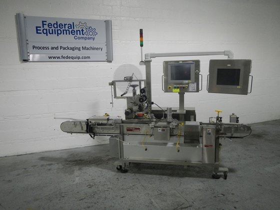 2009 Accraply 350T TOP LABELER
