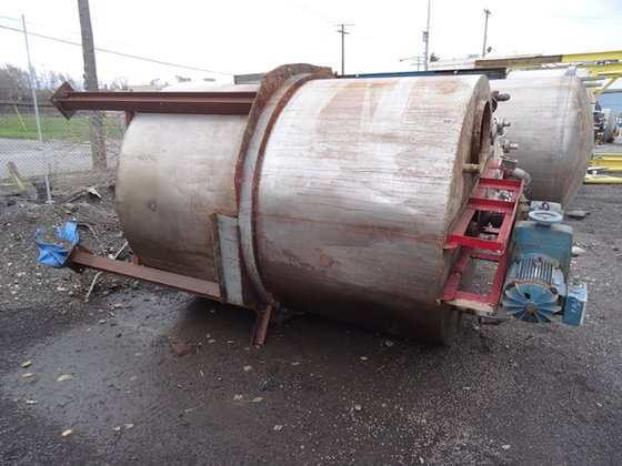 1800 GAL STAINLESS STEEL MIX