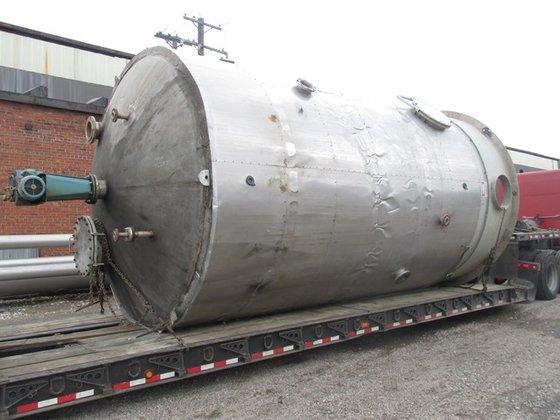 12500 Gal Process Industries Tank,