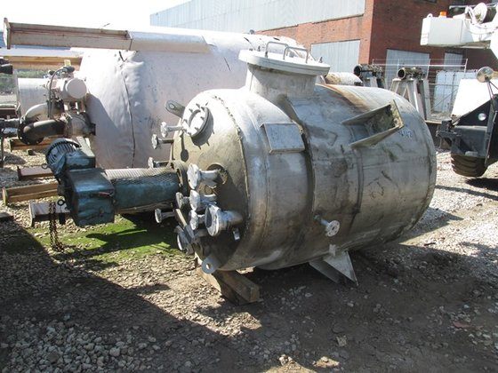 Whiting Metals 550 GAL KETTLE,