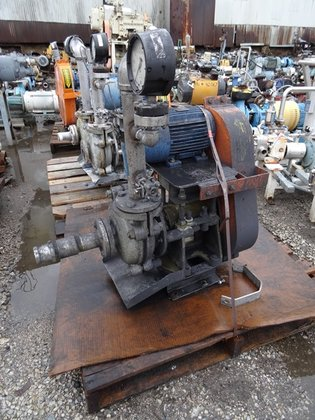 "2"" X WARMAN CENTRIFUGAL PUMP,"