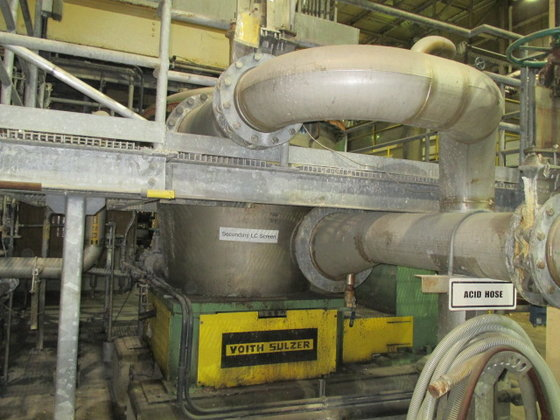 2000 Voith VPS30 PRESSURE SCREEN