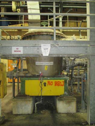 Voith VPS30 PRESSURE SCREEN in