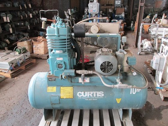 Curtis 10 HP AIR COMPRESSOR