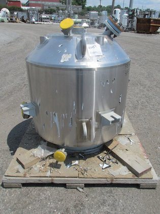 2002 Pfaudler 50 Gal Glass