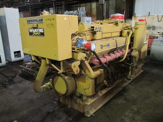 Caterpillar D349 750 KW GENSET,
