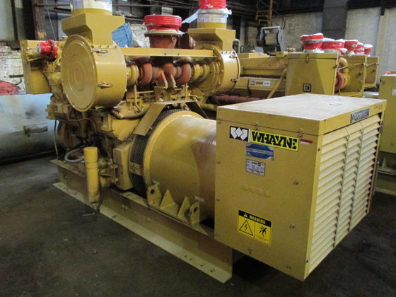 Caterpillar D349 750 KW GENSET,