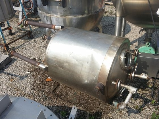 100 GAL STAINLESS STEEL KETTLE