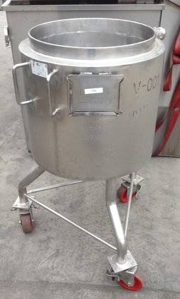 30 GAL STAINLESS STEEL KETTLE