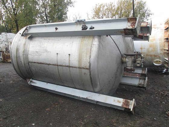 4500 GAL AGITATED TANK, S/S,
