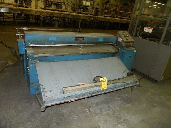 "Rosenthal 60"" SHEETER in Cleveland,"