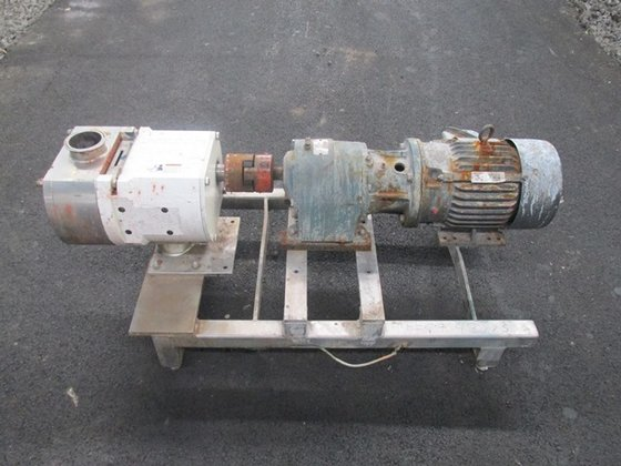 "Unibloc-Pump 3"" ROTARY LOBE S/S,"