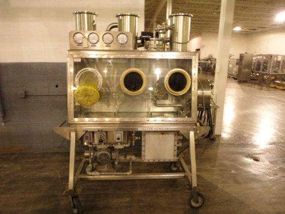 "Isolation Technologies 54"" GLOVE BOX,"