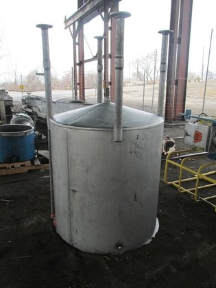 330 GAL STAINLESS STEEL MIX