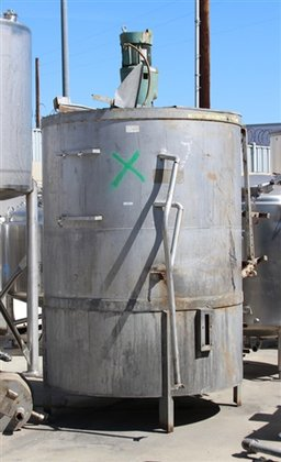 1200 GAL STAINLESS STEEL MIX
