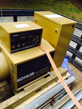 Kohler 60RZ2-GTT2 57 KW GENSET