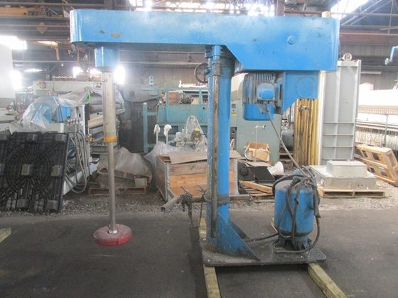 Myers 800A-15 HP DISPERSER, S/S