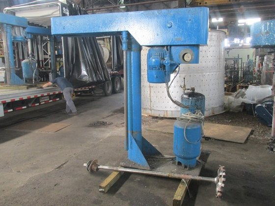Myers 800A-25 HP DISPERSER, S/S