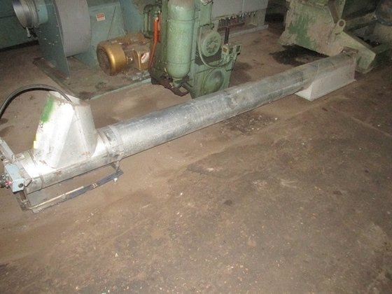 "10"" TUBULAR SCREW CONVEYOR, GALVANIZED"