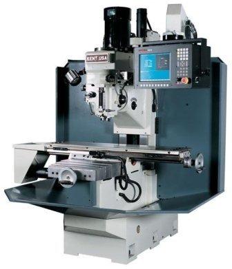 KENT TW-3201-QI CNC BED MILL,