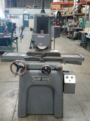 6 x 18 sharp surface grinder manual magchuck sg 618 9282 in rh machinio com harig 618 surface grinder parts elliott 618 surface grinder manual