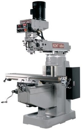 KENT KTM-3VKF MANUAL MILL W/FREQ.DRIVE