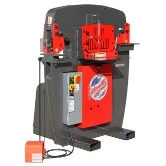 EDWARDS JAWS-60TON 60-TON IRONWORKER, 1-PHSE