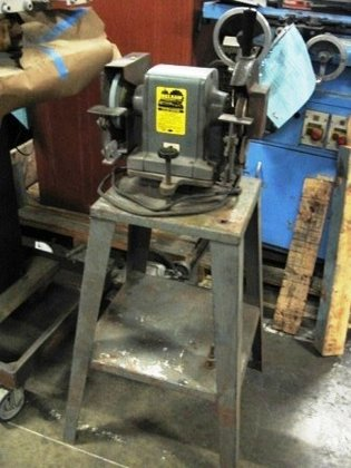 BELSAW BENCH GRINDER, ON FLOOR
