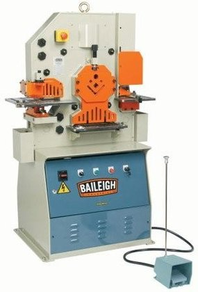 BAILEIGH SW-503 50-TON IRONWORKER, 3-PHASE,