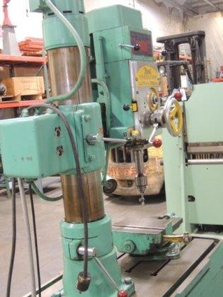 3 x 7 veet precision radial drill 3h 8834 in mcclellan park ca usa rh machinio com
