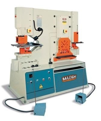 BAILEIGH SW-953 95-TON IRONWORKER, 3-PHASE,