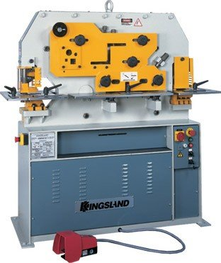 KINGSLAND 50-TON 'COMPACT' IRONWORKER in