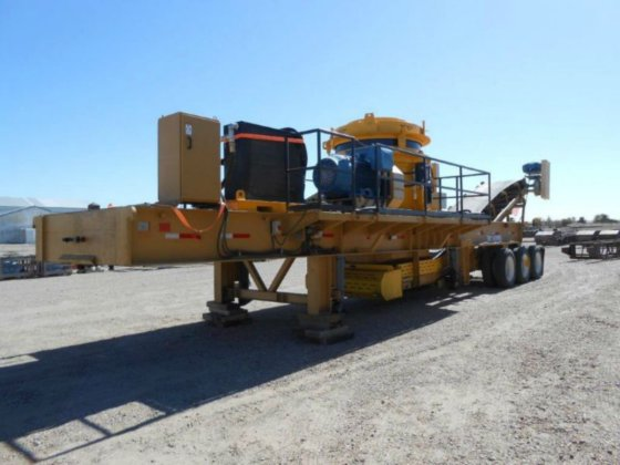 Trio T450 Portable Cone Crusher in Amarillo, TX, USA