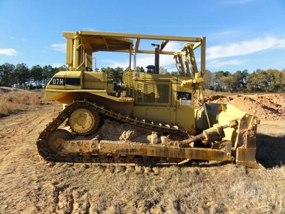 1989 CATERPILLAR D7H in Greeleyville,