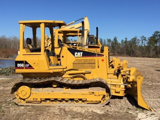 2007 CATERPILLAR D5G LGP in