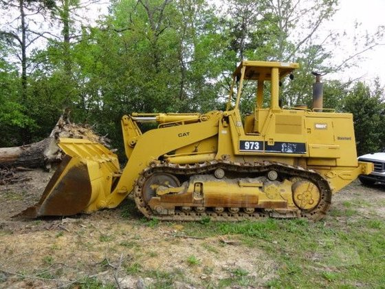 1990 CATERPILLAR 973 in Greeleyville,